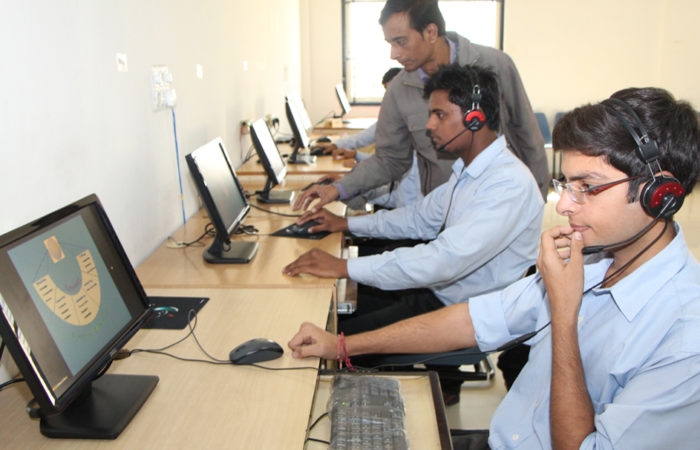 Our Student In Computer Lab